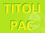 Immagine di N,10 TITOLI PAC ORDINARI CAMPAGNA 2019, DAL N.000008598301 AL N.000008598310, VALORE UNITARIO Euro. 194,47