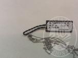 Immagine di RIF. 4 - catena in oro bianco con ciondolo in Onice e diamanti contrassegnato con Codice 744pbdb GR. 5,70