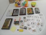 Immagine di Materiale di cancelleria e accessori vari (lotto 46)