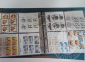 Francobolli da collezione: Repubblica democratica tedesca (lotto 114) un raccoglitore con 2.960 francobolli nuovi in foglietti