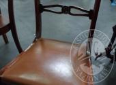 Liq. M.M. n. 7/2017 - Lotto 12: Coppia di sedie seduta in pelle