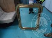 Liq. M.M. n. 7/2017 - Lotto 57: Specchio cornice dorata