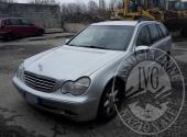 (Lotto n.1) - Autovettura marca MERCEDES modello C220, immatricolata l' 8.05.2002