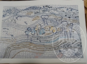 Fall. Parco Visconti Borromeo Srl n. 575/2015 - 942 litografie su carta 50 x 70 (15 soggetti) a firma Antonio Vangelli