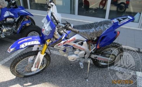 Immagine di MOTOCROSS 50 EXCEED E QUAD SILVER COLORE BLU