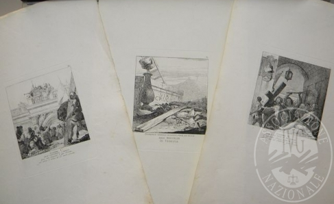 Immagine di Serie completa 'Via Crucis' 15 acqueforti, autore Giandomenico Tiepolo (lotto 19)